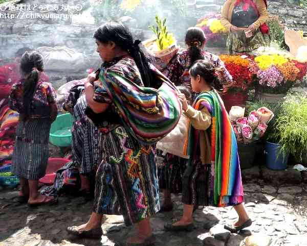 グアテマラの風呂敷