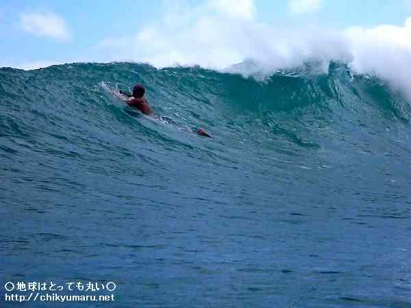 サーフィンのメッカ、ノースショア