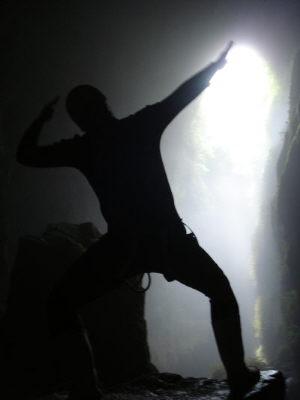 記念撮影 in Cave