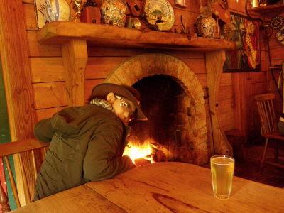 Nさんと暖炉