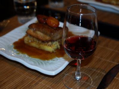 赤ワインと角煮風
