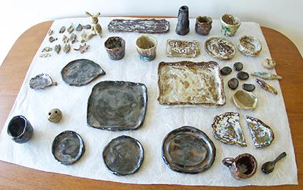 ひの谷焼陶芸体験 モトフサ現代美術館