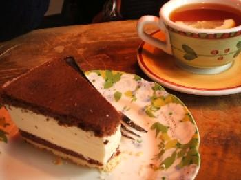 カサミンゴーでチーズケーキ