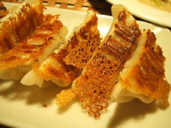 チルドの焼き餃子