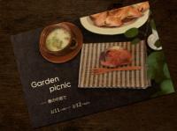 Garden picnic DM