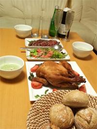 クリスマスの夕食