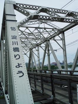 赤川鉄橋と菖蒲園2