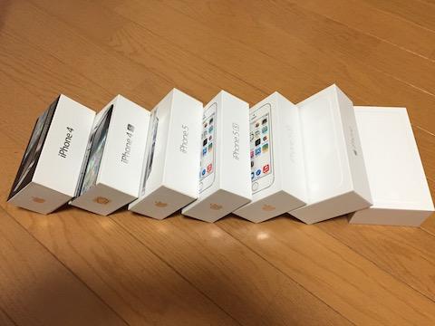 iPhoneの箱
