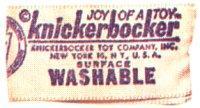 ニッカポッカー 1950年代からのラベル