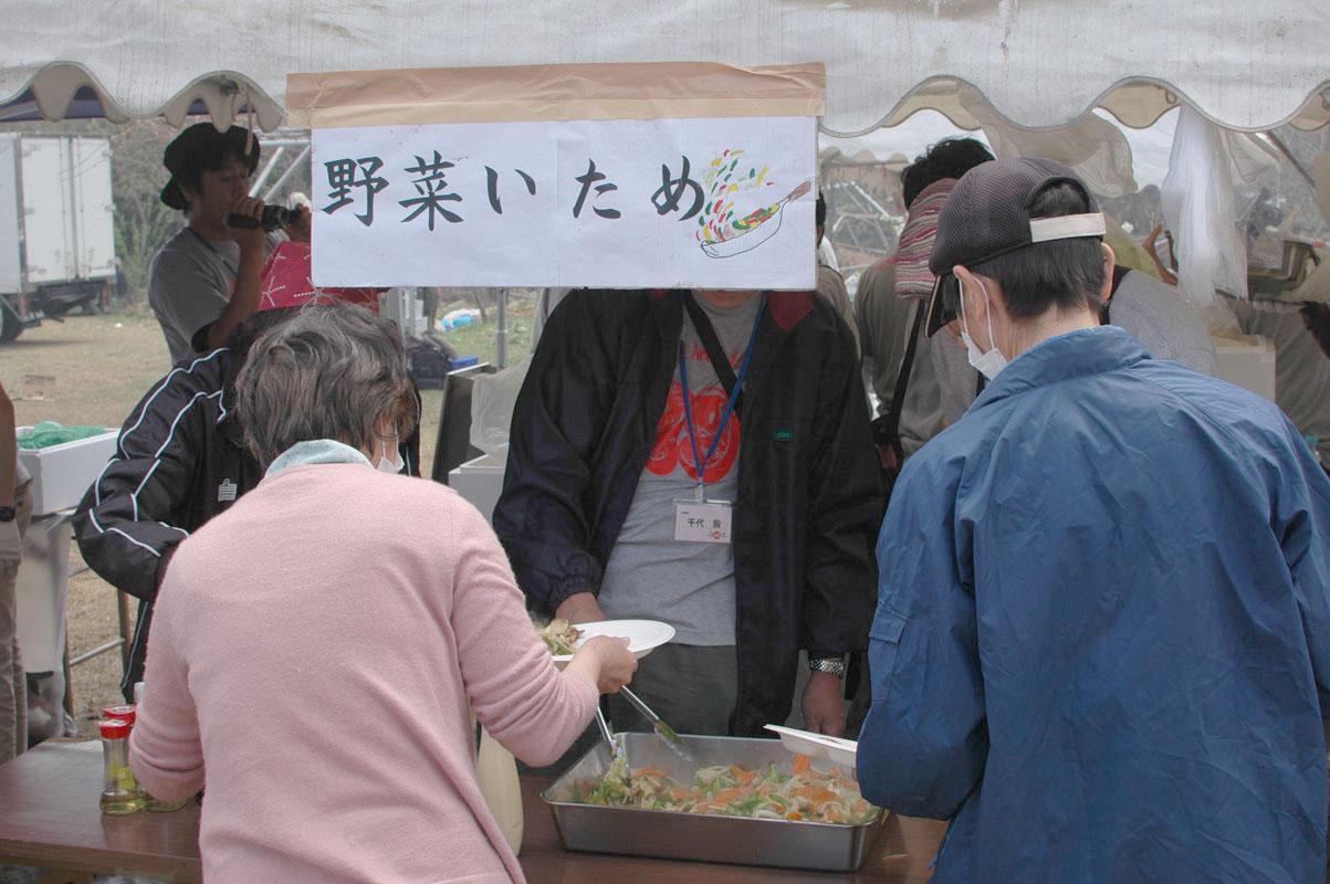 野菜炒めブース1