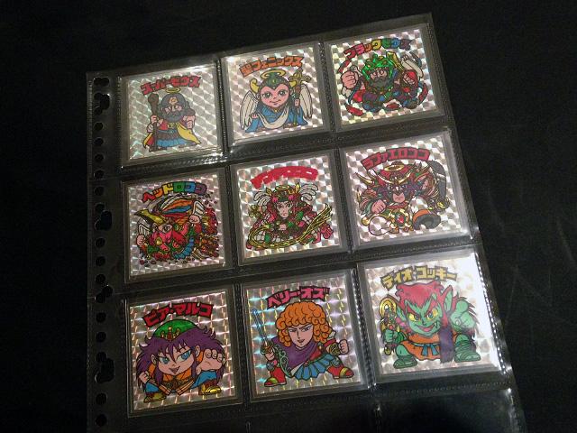ロッテアイスビックリマン(キラキラヘッドシール3枚入り!)福袋版