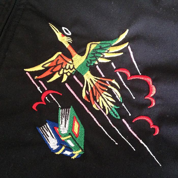 ビックリマン スカジャン ベトジャン オリジナル 刺繍