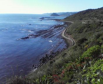 日南海岸、めちゃきれい。