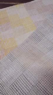 クラックル織り