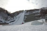 2010年春の大倉山ジャンプ場