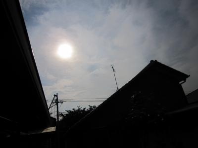 日食レンズを通さないとコレ