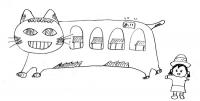 僕の描いた猫バス