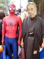 スパイダーマンと諭吉