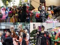 ハロウィンの仮装パレード
