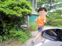 箱根を走るキャッチャー