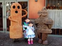 子供たちと土偶・埴輪