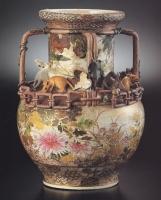 葡萄鼠細工花瓶