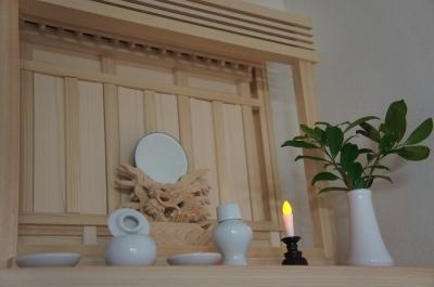 「家の中のパワースポット神棚」龍神不動尊