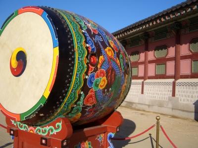 韓国の空の太鼓