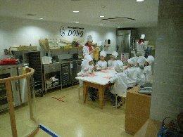 キッザニアパン屋