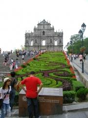 聖ポール天主堂跡(前庭)