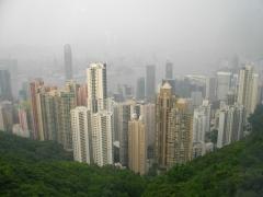 山頂からの景色(友人撮影)