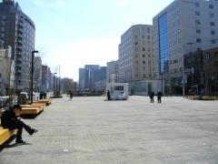 二条市場前の大広場