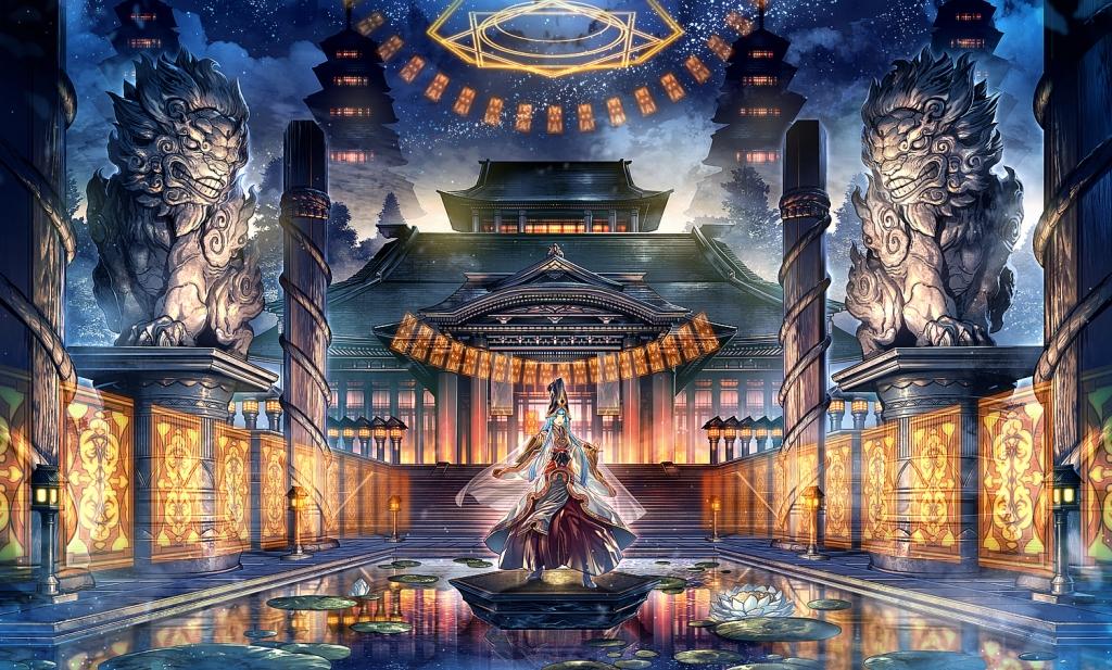 東洋ファンタジー風景の書き方 発売 秋季例大祭 紅楼夢告知 薬味さらい