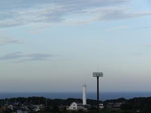 カシマスタジアムからの眺め