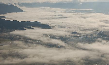 先日の雲海