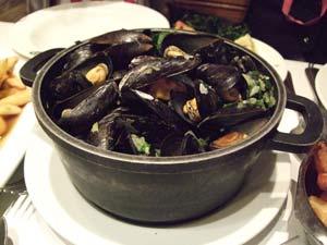 ムール貝のポット煮