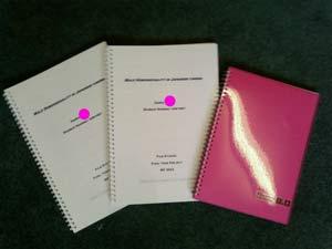 卒論と卒論用ノート