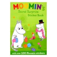 MOOMIN's Secret Surprise Sticker Book ムーミン洋書絵本・ステッカーブック ★トーベ・ヤンソン★