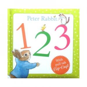Peter Rabbit 123 With pull tab flip-flap(ピーターラビット123・しかけえほん)