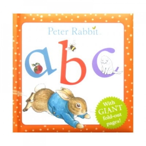 Peter Rabbit abc With Giant fold-out pages(ピーターラビットabc・折りたたみページ付き)