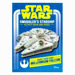 STAR WARS Smugglers Starshp Activty Book and Model: Make Your Own Millennium Falcon