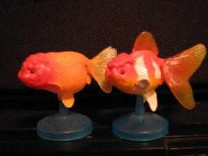 金魚フィギュア
