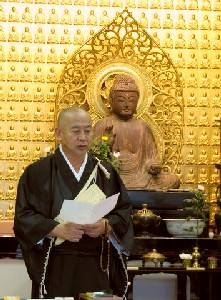 薬師寺の村上太胤さんの法話