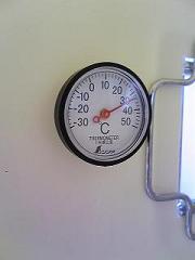 温度計付きなのだ。