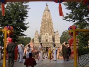 ブッダガヤのマハーボディ寺