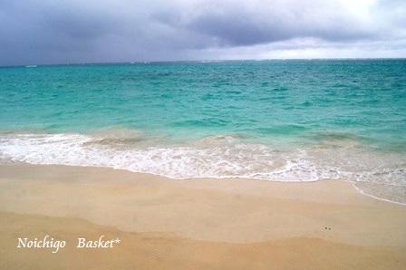 雨の海~♪