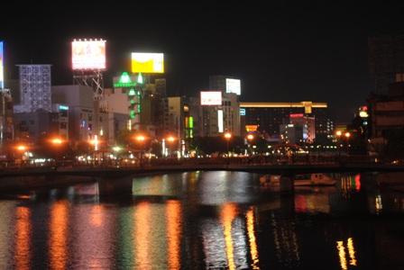 101002夜の中州