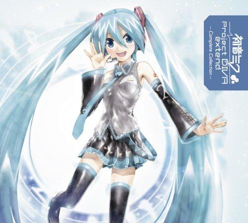 初音ミク-Project DIVA-extend Complete Collection(DVD付) [CD+DVD, Limited Edition]