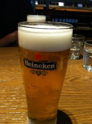 Heineken. Extra Cold