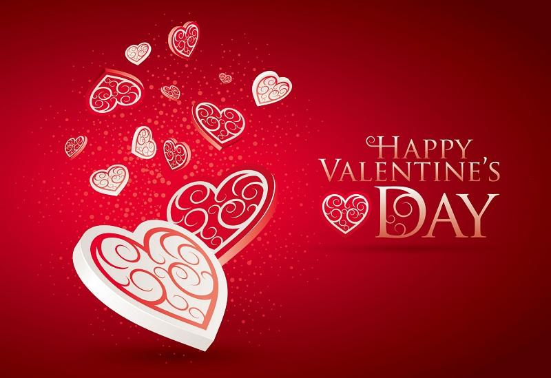 バレンタインデーを楽しむ